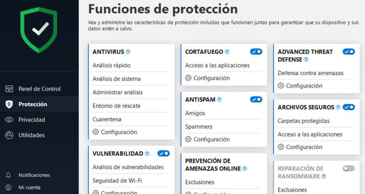 Bitdefender plus 2018: El antivirus ideal para Windows